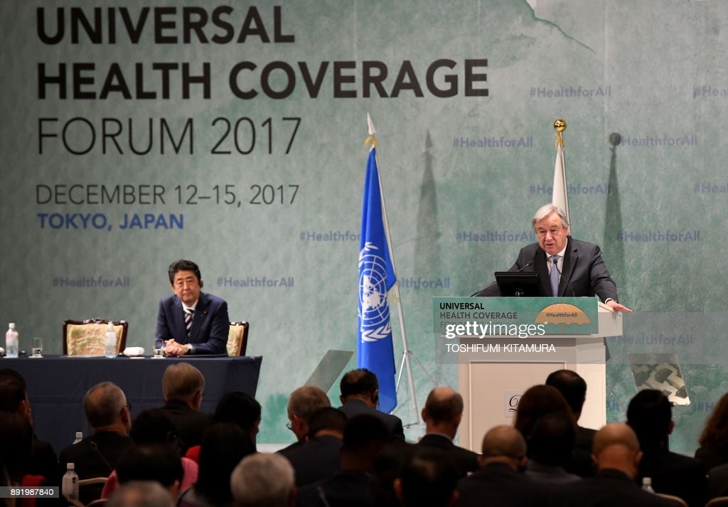 Universal Health Coverage forum in Tokyo
