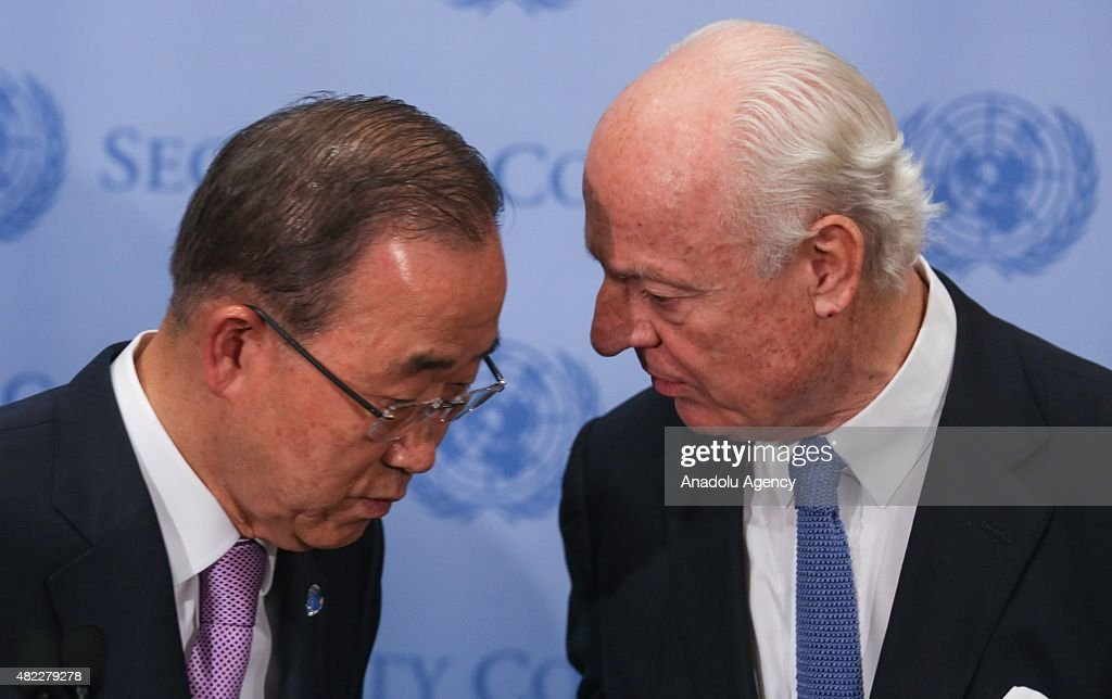 United Nations Security Council Meeting in New York : News Photo