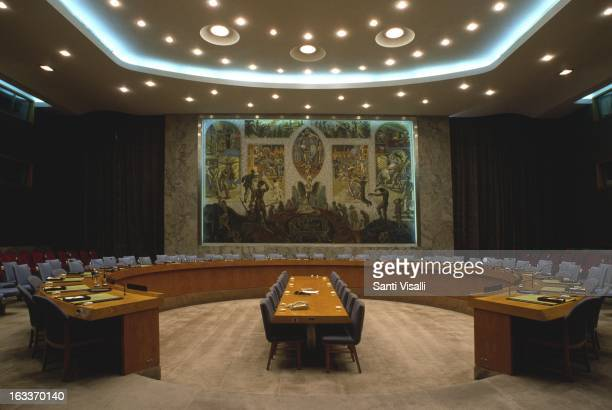 United Nations Security Council on June 15 1985 in New York New York