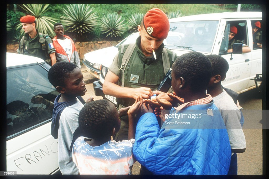 Rwandan Violence Forces Evacuation Of Foreigners : News Photo