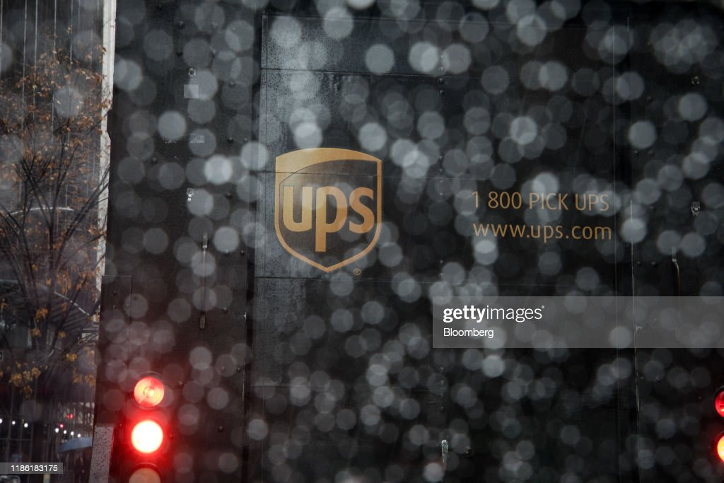 A United Parcel Service Inc Logo Is Displayed On A Delivery Truck As News Photo Getty Images