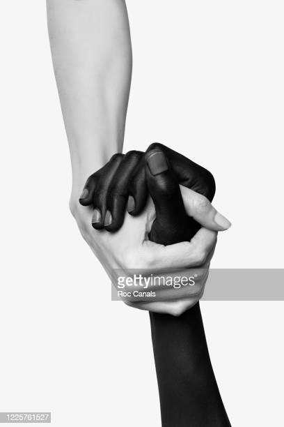 united - main noir et blanc photos et images de collection