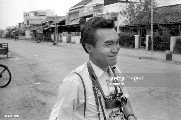 United Press International staff photographer Kyoichi Sawada assigned to Saigon bureau
