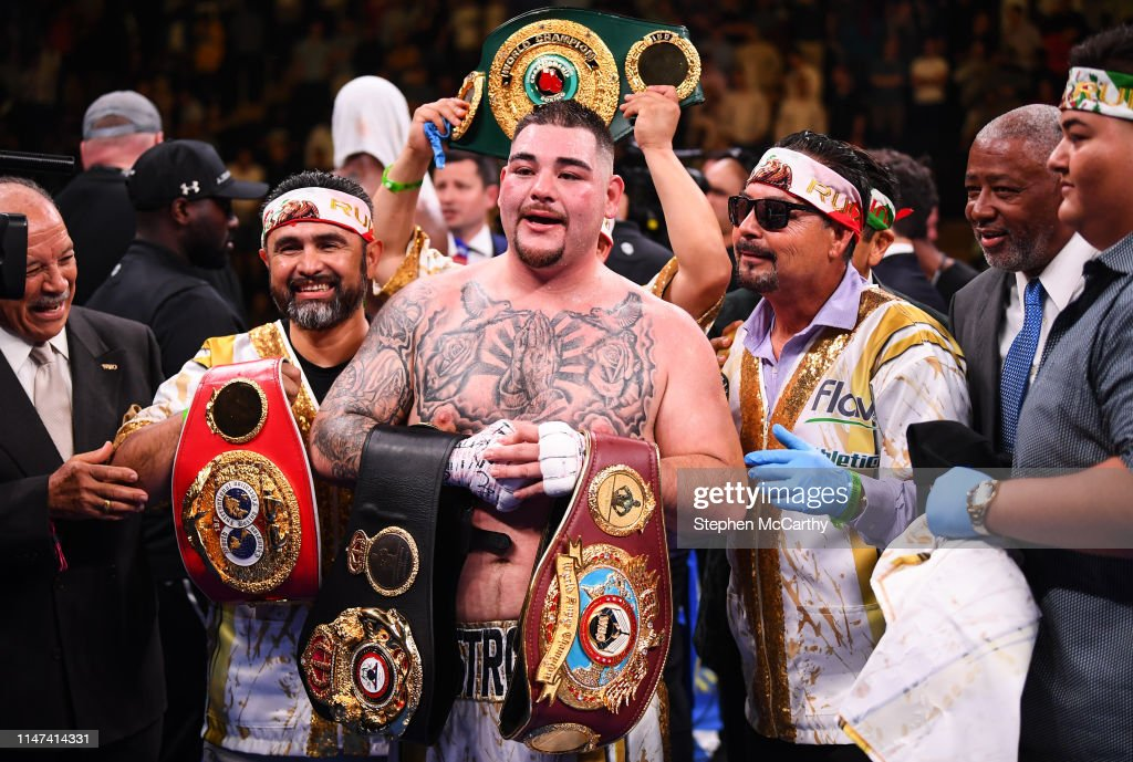 Anthony Joshua vs. Andy Ruiz Jr : News Photo