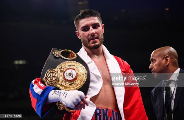 United States - 1 June 2019; Josh Kelly after his International Welterweight Championship bout with Ray Robinson at Madison Square Garden in New...
