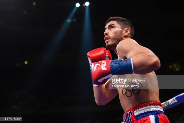 United States - 1 June 2019; Josh Kelly during his International Welterweight Championship bout with Ray Robinson at Madison Square Garden in New...