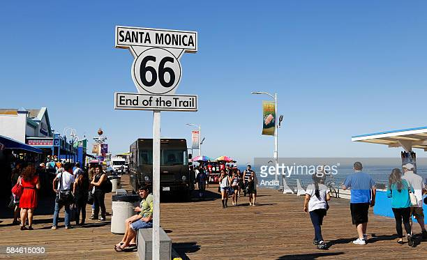 the historic Route 66 originally ran from Chicago to Los Angeles between 1926 and 1985 The highway no longer have an official existence but remains...