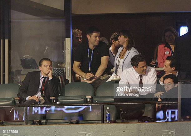 United States: Actors Leonardo DiCaprio , John Cusack and Ben Affleck join Alexandra Kerry , daughter of Democratic presidential candidate John...