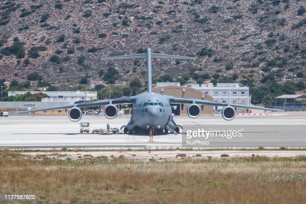 United States Air Force Boeing C-17A Globemaster III, U.S. Air Force 07-7177 DOVER, Spirit of Delaware and 10-0215 CHARLESTON. Manufacturer of C17 is...