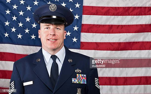 United States Air Force military man