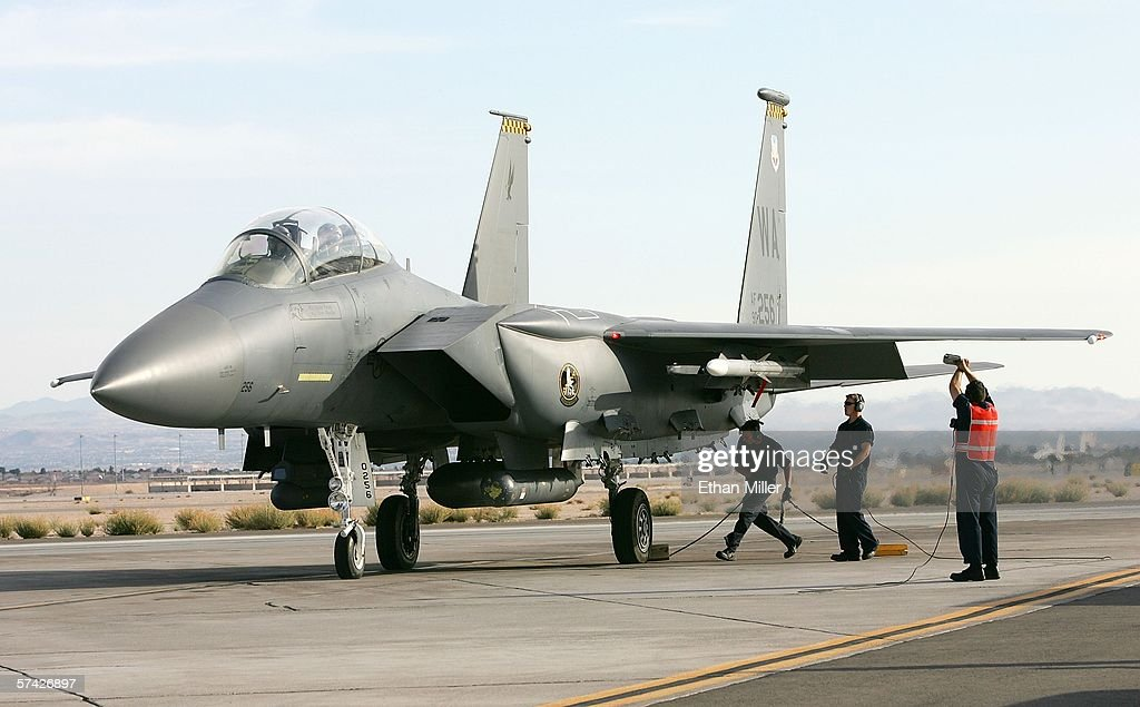 Air Force Holds Joint Expeditionary Force Experiment 2006 : News Photo