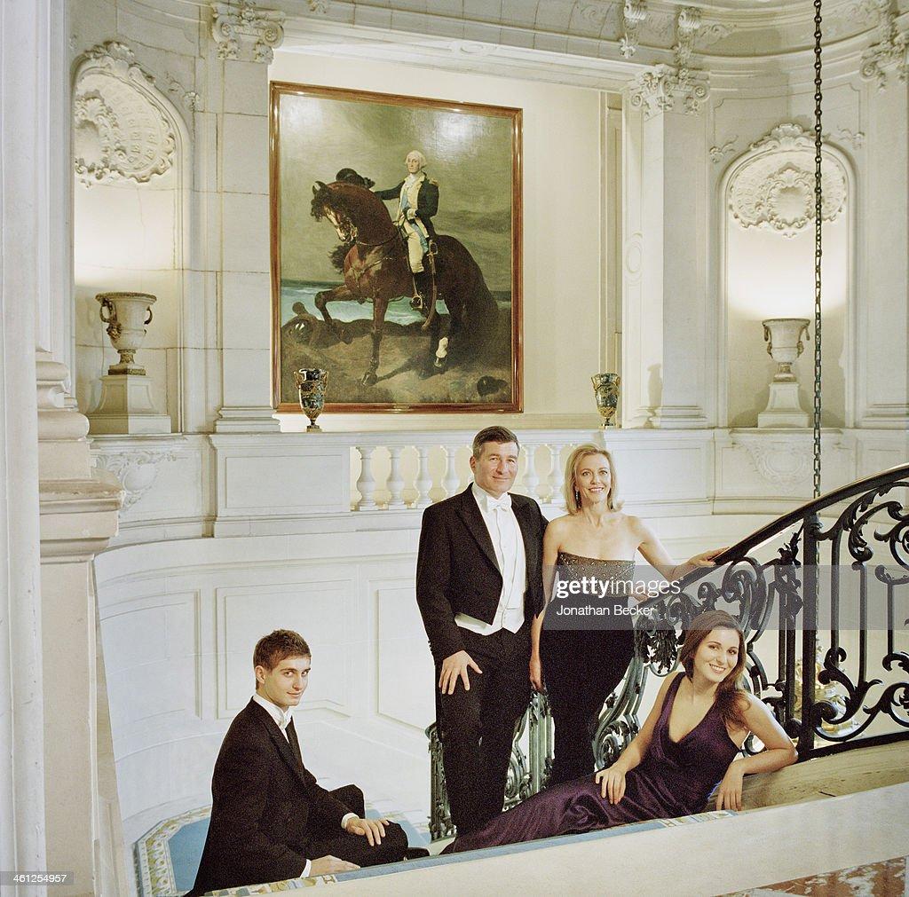 Charles Rivkin, Town & Country Magazine, February 1, 2013 : News Photo