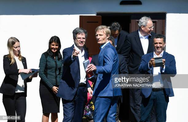 United States Ambassador to the United Nations Nikki Haley France's Ambassador to the UN François Delattre alternate representative of Sweden to the...