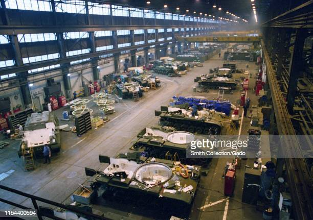 United States Army tank factory at Anniston Army Depot, Alabama, April 12, 1977. Image courtesy United States Department of Defence.