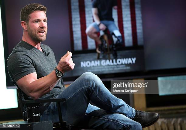 United States Army veteran and motivational speaker Noah Galloway speaks at AOL Build Presents Noah Galloway Discussing His Book 'Living With No...