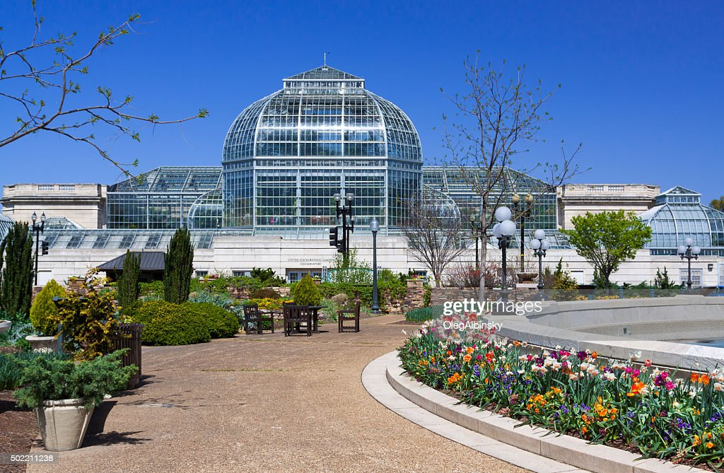 United States Botanic Garden (USBG), Washington DC, USA. : Stock Photo