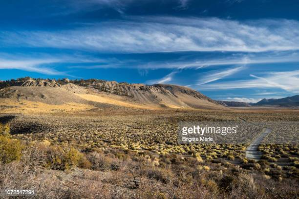 United States, California, the road to Mono Lake
