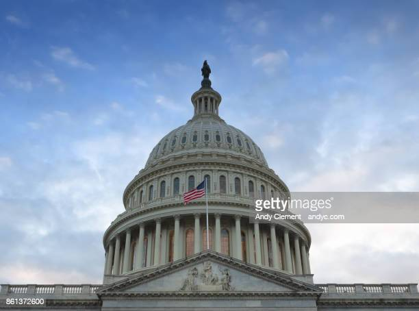united states capital building - andy clement stock photos and pictures
