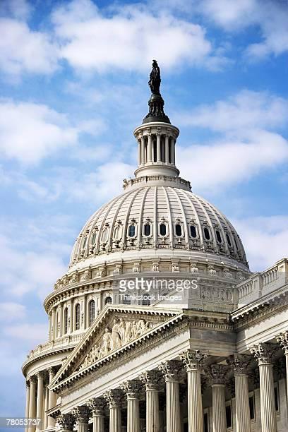 united states capitol building, washington, dc - thinkstock foto e immagini stock