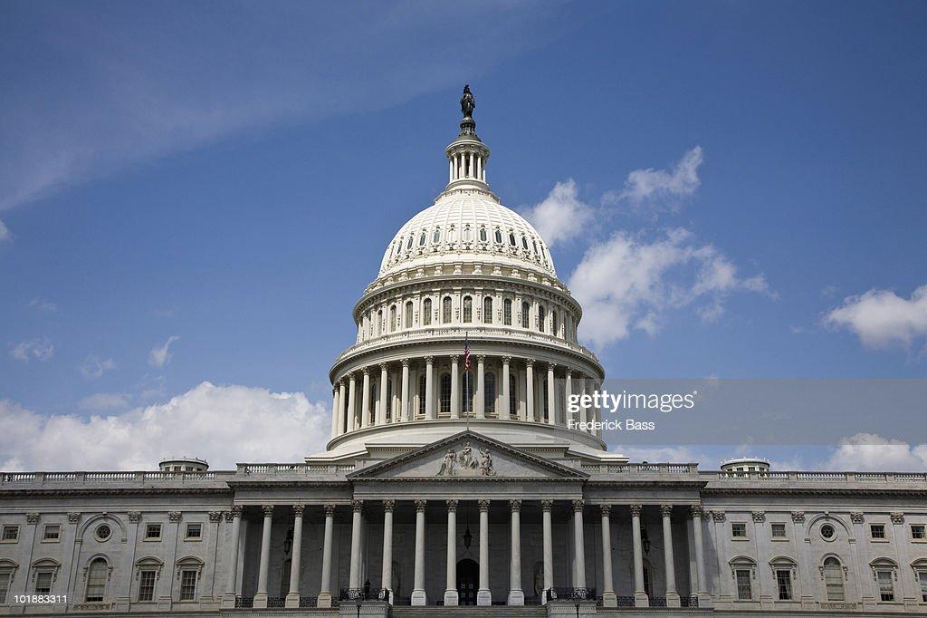 United States Capitol Building, Washington DC, USA : ストックフォト