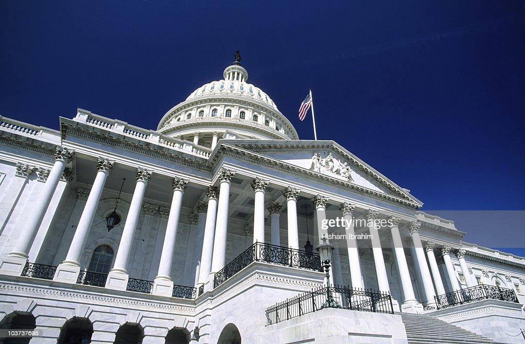 United States Capitol Building-Washington DC, USA : Stock Photo