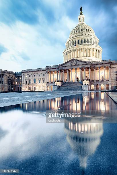 united states capitol - government stock pictures, royalty-free photos & images
