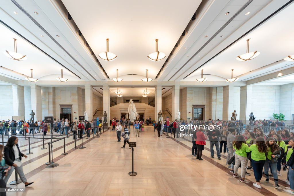 United States Capitol Visitor Center Usa High Res Stock Photo Getty Images
