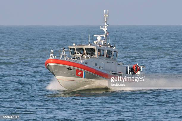 united states coast guard skiff - coast guard stock pictures, royalty-free photos & images