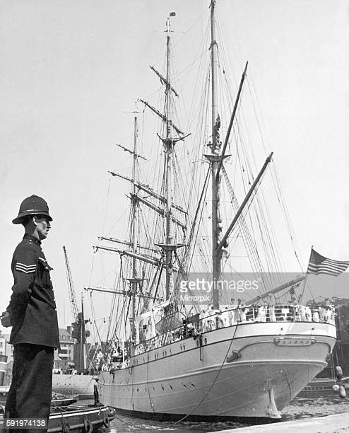 United States Coastguard Ship 'Eagle' in London's Shadwell Basin 24th June 1939