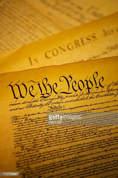 united states constitution - us constitution stock photos and pictures