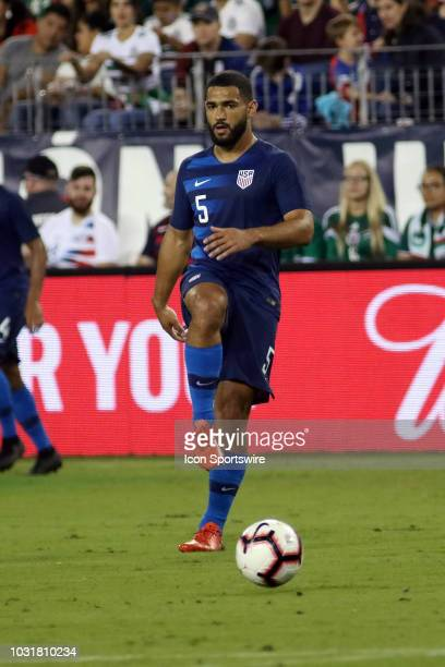 United States defender Carmeron CarterVickers during the game between the United States National team and the Mexico National team on September 11...