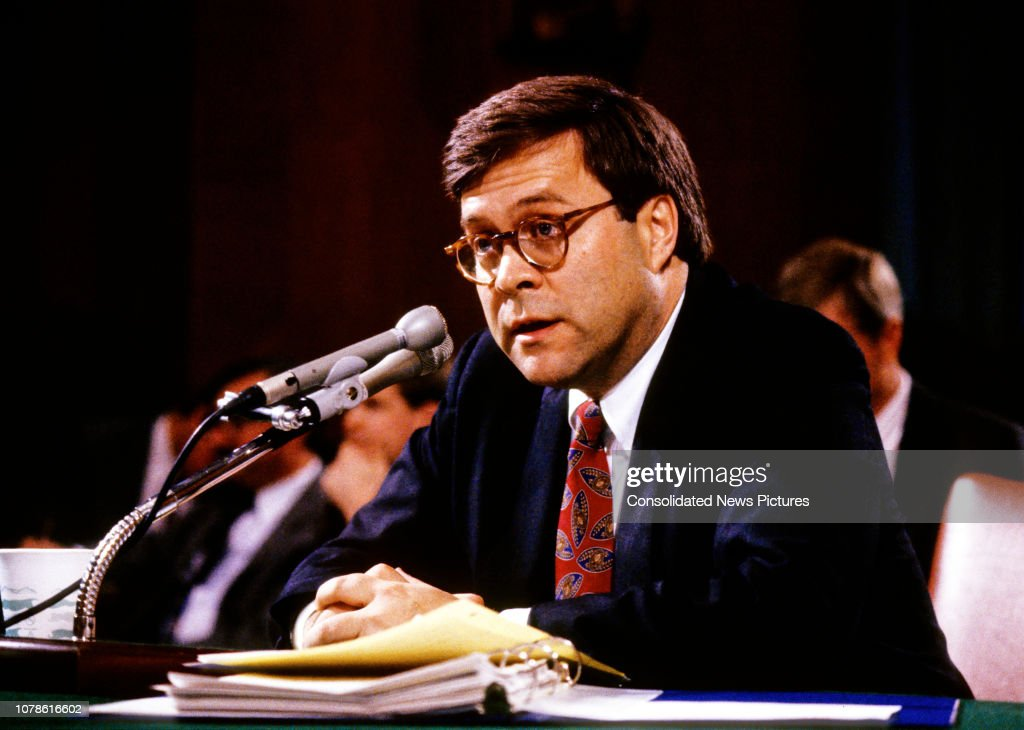 Dep AG Barr's Confirmation Hearing : News Photo