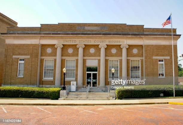 united states district courthouse in marshall texas - federal building stock pictures, royalty-free photos & images