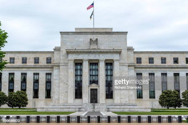 united states federal reserve building, washington dc, usa - central bank stock pictures, royalty-free photos & images