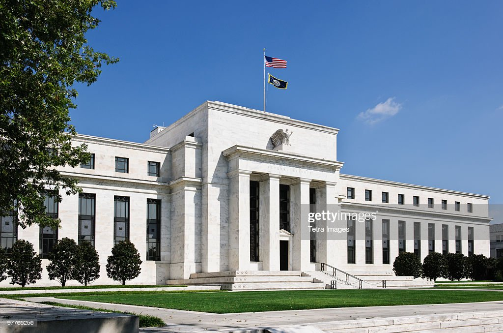 United States federal reserve : Stock Photo