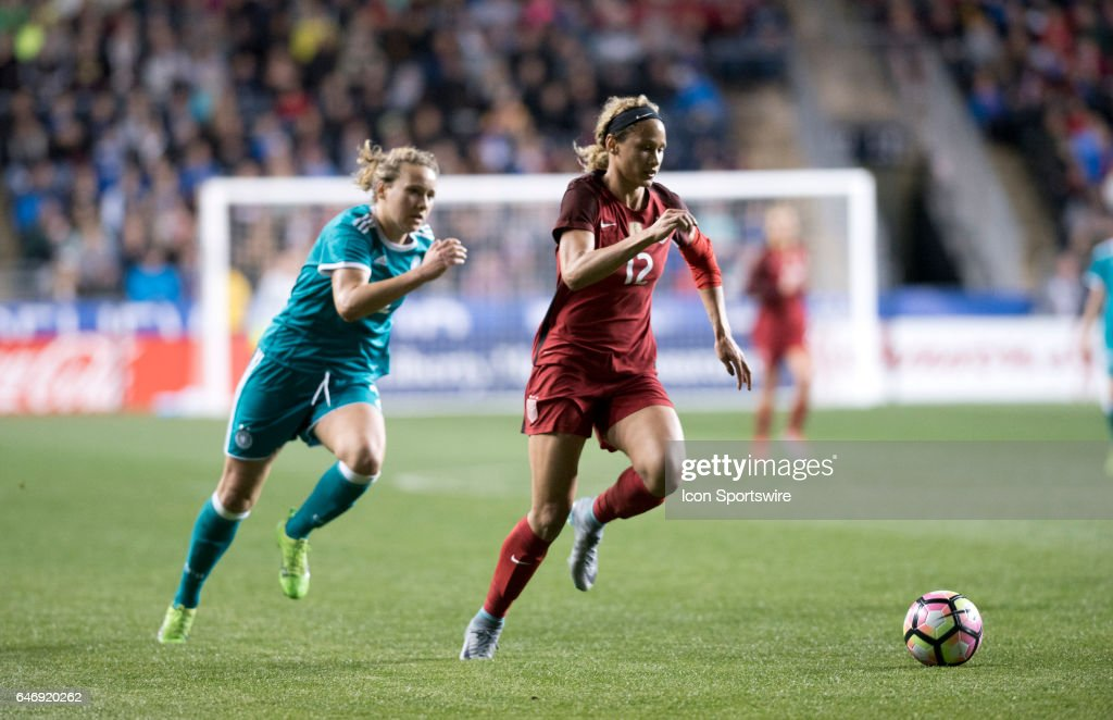 SOCCER: MAR 01 SheBelieves Cup - USA v Germany : News Photo