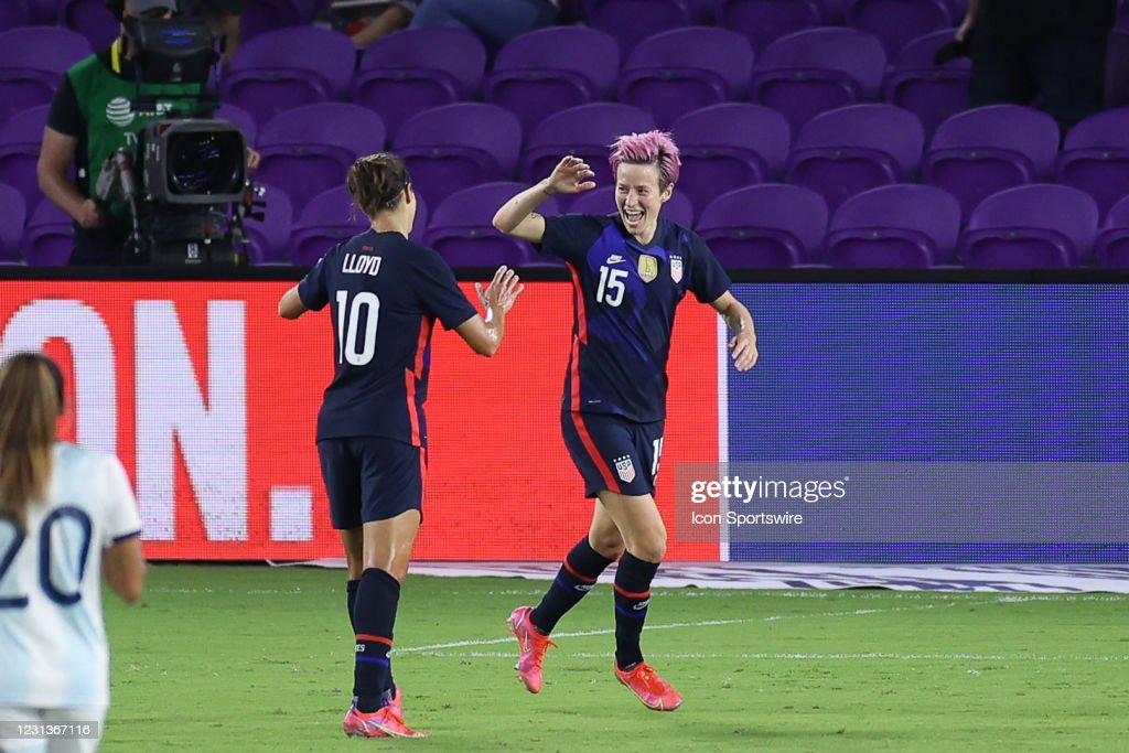 SOCCER: FEB 24 SheBelieves Cup - USA v Argentina : News Photo