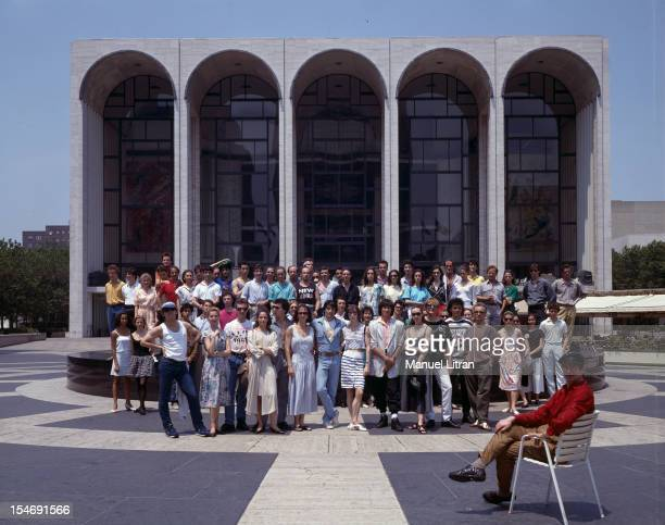 United States July 1987 the ballet of the Paris Opera before the MET in New York Under the leadership of Rudolf Nureyev the first of the thirteen...