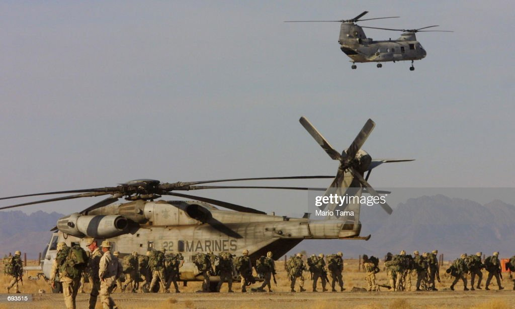 US Forces in Kandahar : News Photo