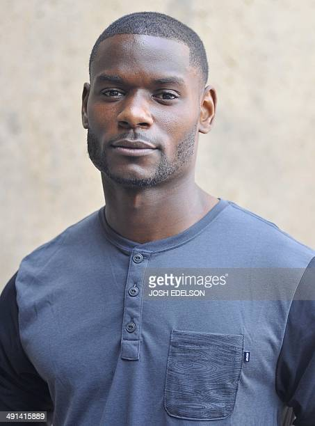 United States Men's National Soccer Team player Maurice Edu pauses for a photo before a training session at Stanford Stadium in Stanford, California...