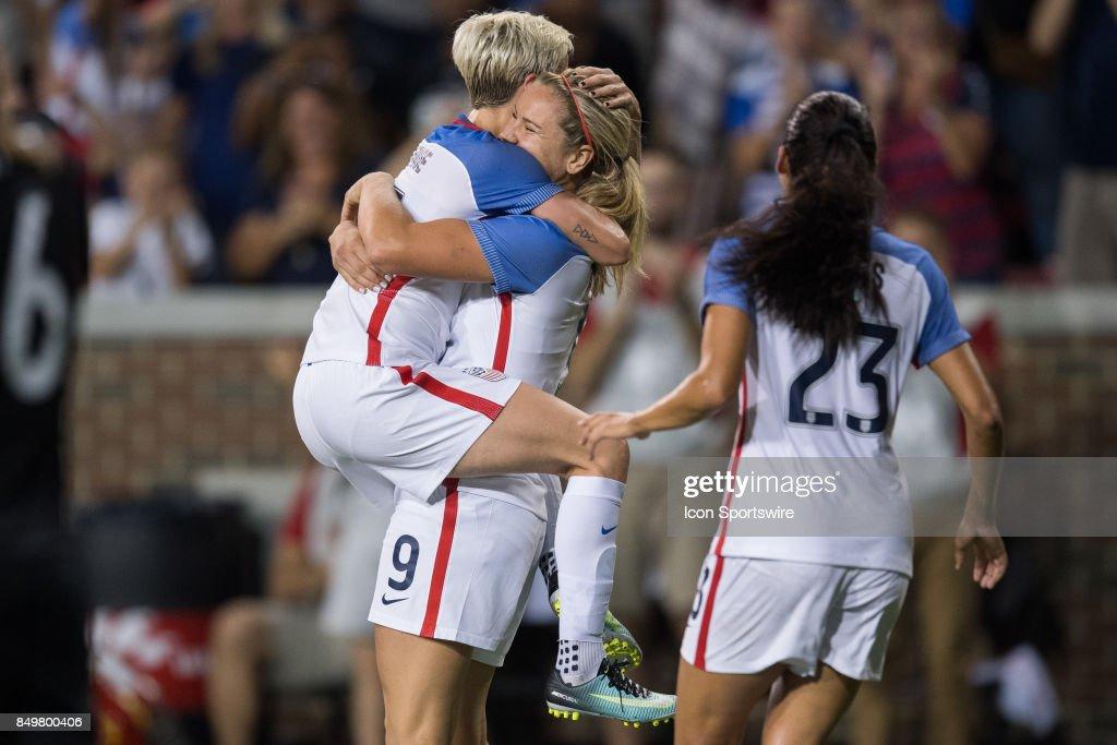 SOCCER: SEP 19 Women's - USA v New Zealand : News Photo
