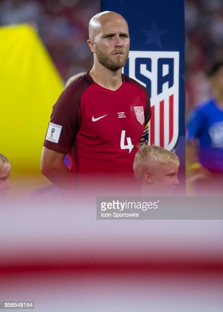 United States midfielder Michael Bradley during the World Cup Qualifier soccer match between the USA Mens National Team and Panama National Team on...