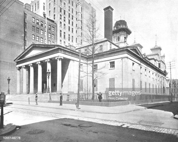 United States Mint Philadelphia USA circa 1900 In the late 18th century the first national mint was established in Philadelphia the US capital at the...
