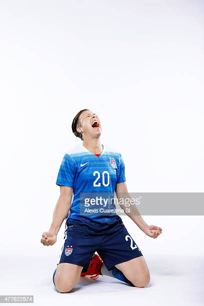 United States National Soccer team member Abby Wombach is photographed for Sports Illustrated on May 2 2015 in Newport Beach California COVER IMAGE...