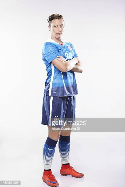 United States National Soccer team member Abby Wombach is photographed for Sports Illustrated on May 2 2015 in Newport Beach California CREDIT MUST...