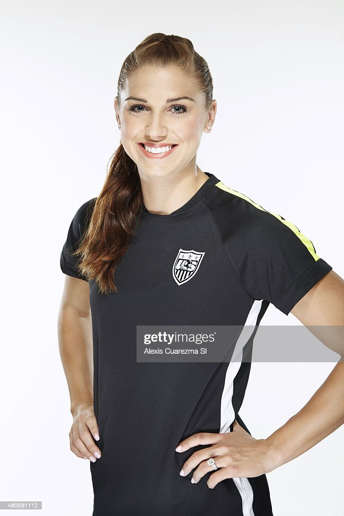 United States National Soccer team member, Alex Morgan is photographed for Sports Illustrated on May 2, 2015 in Newport Beach, California.
