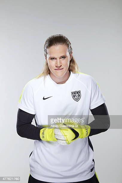 United States National Soccer team member Alyssa Naeher is photographed for Sports Illustrated on May 2 2015 in Newport Beach California PUBLISHED...