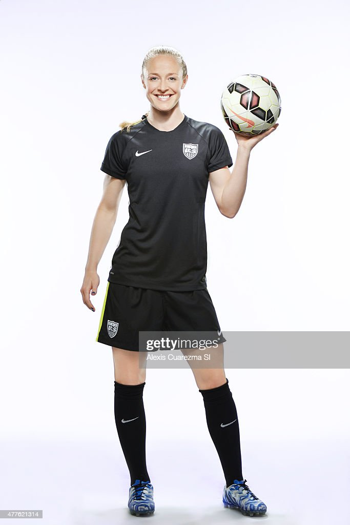 United States National Soccer team member, Becky Sauerbrunn is photographed for Sports Illustrated on May 2, 2015 in Newport Beach, California. PUBLISHED IMAGE.