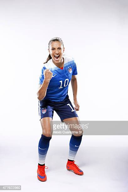United States National Soccer team member Carli Lloyd is photographed for Sports Illustrated on May 2 2015 in Newport Beach California COVER IMAGE...