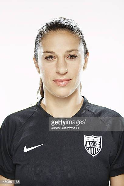 United States National Soccer team member Carli Lloyd is photographed for Sports Illustrated on May 2 2015 in Newport Beach California CREDIT MUST...